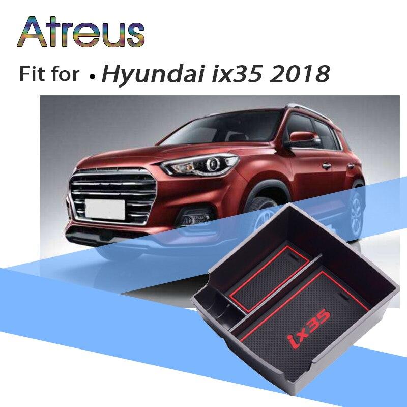 Voiture Console Centrale Bin Plateau Titulaire Accoudoir Boîte De Rangement Pour Hyundai Tucson 2017 2018 2016 2015 Accessoires Pour Hyundai IX35 2018