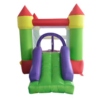 YARD Inflatable Trampoline For Children Bouncy Castles Inflatable Castle Bouncer with Ball Pit and Slide for Kids