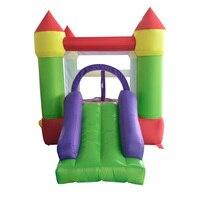 Yard/надувной батут для детей с горками 4,4x2x2,2 m надувные игры надувной прыгающий замок с вентилятором