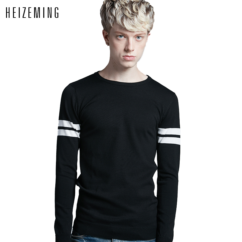 Sudaderas 2016round Neck Sweaters Male Han Edition Cultivate One s Morality Men Sweater Students Render Unlined