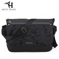 ARCTIC HUNTER New Leisure Men Messenger Bag Oxford Cloth Camouflage Material Shoulder Bag Fashion Postman Package