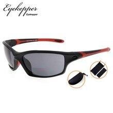 SG903 Eyekepper TR90 إطار ثنائية البؤرة نظارات شمسية رياضية البيسبول تشغيل الصيد القيادة جولف الكرة اللينة المشي القراء