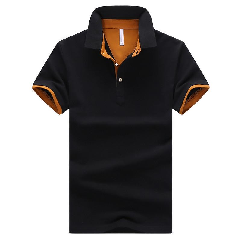 Рубашки поло для мужчин рубашки дышащий Фирменная Новинка 2019 прибыл рубашки поло Рубашка с короткими рукавами Для мужчин классический диза...