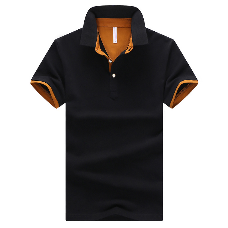 man Polos shirts Breathable Brand New 2019 Arrived Polo Shirts Short Sleeves Men Classic Design Solid Color S-4XL Cotton Tops
