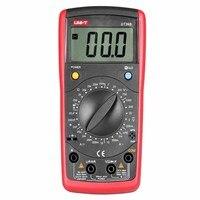 UNI T UT39B Digital Multimeter Manual Range AC DC Voltmeter Ammeter Ohmmeter Capacitance Diode Transistor Tester Data hold