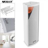 Durable 20W Mini Rectangular Outdoor Wall Mounted Waterproof Speaker Public Broadcast Speaker For Park School Shopping