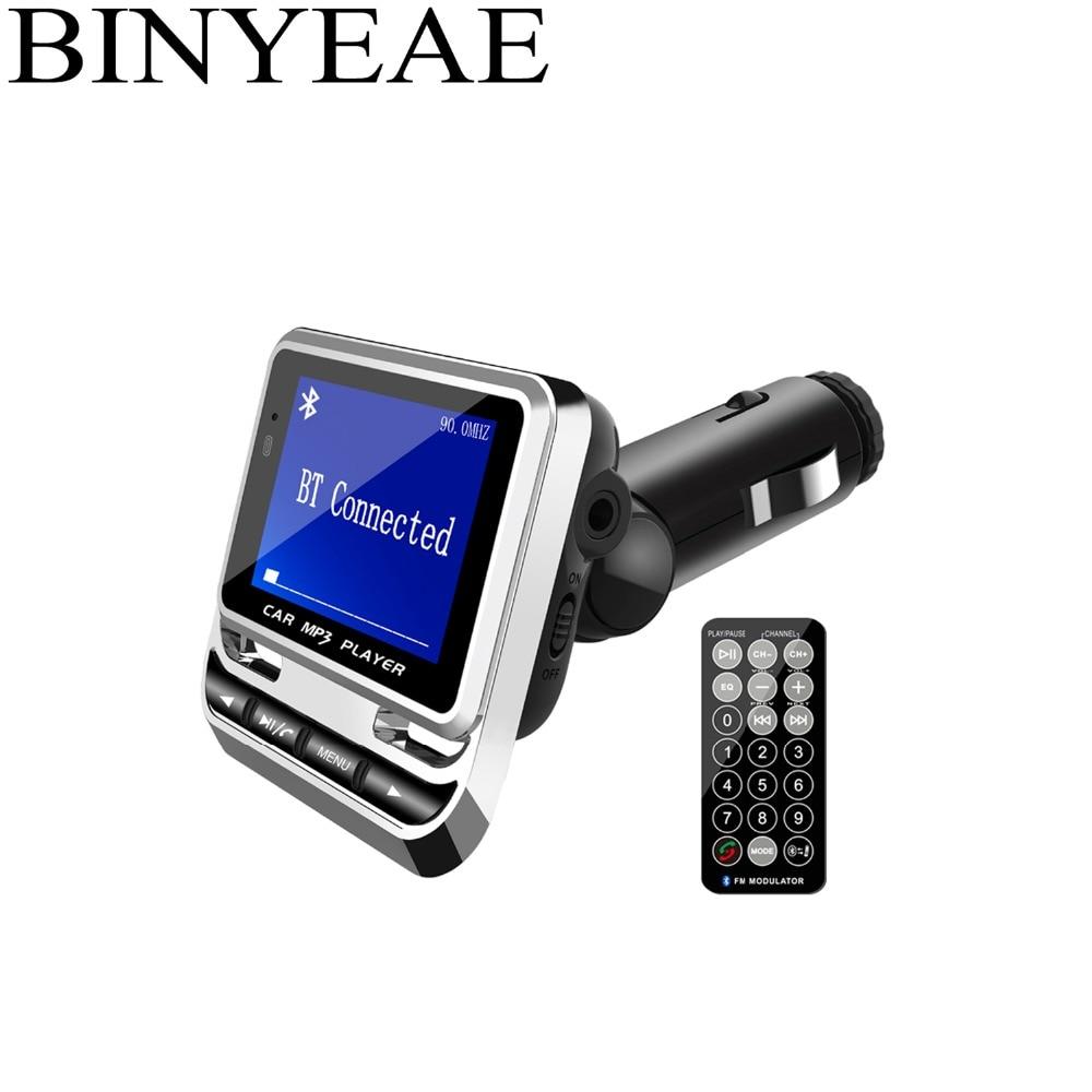 Funkadapter Gutherzig Bluetooth 4,1 Fm Transmitter Drahtlose Radio Adapter Car Kit Mit Ir 21-schlüssel Fernbedienung 1,4 große Bildschirm