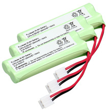 3 pack home phone battery walkie talkie battery 2.4 V 500 mAh Home Phone Battery for CPH-518D/BT-28443/BT-18443