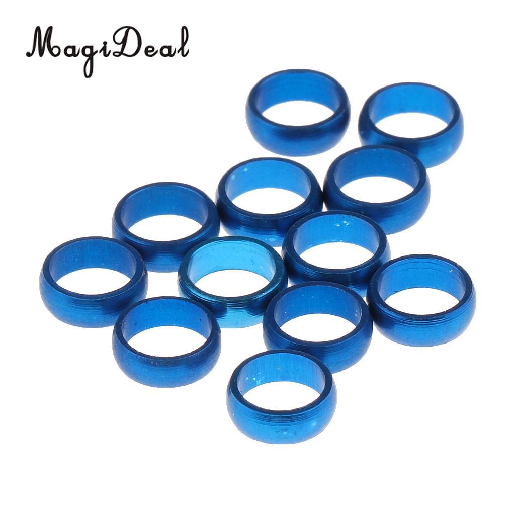 MagiDeal 12 шт. Dart sharft защиты Перелёты o Кольца запасных захват кольцо синий