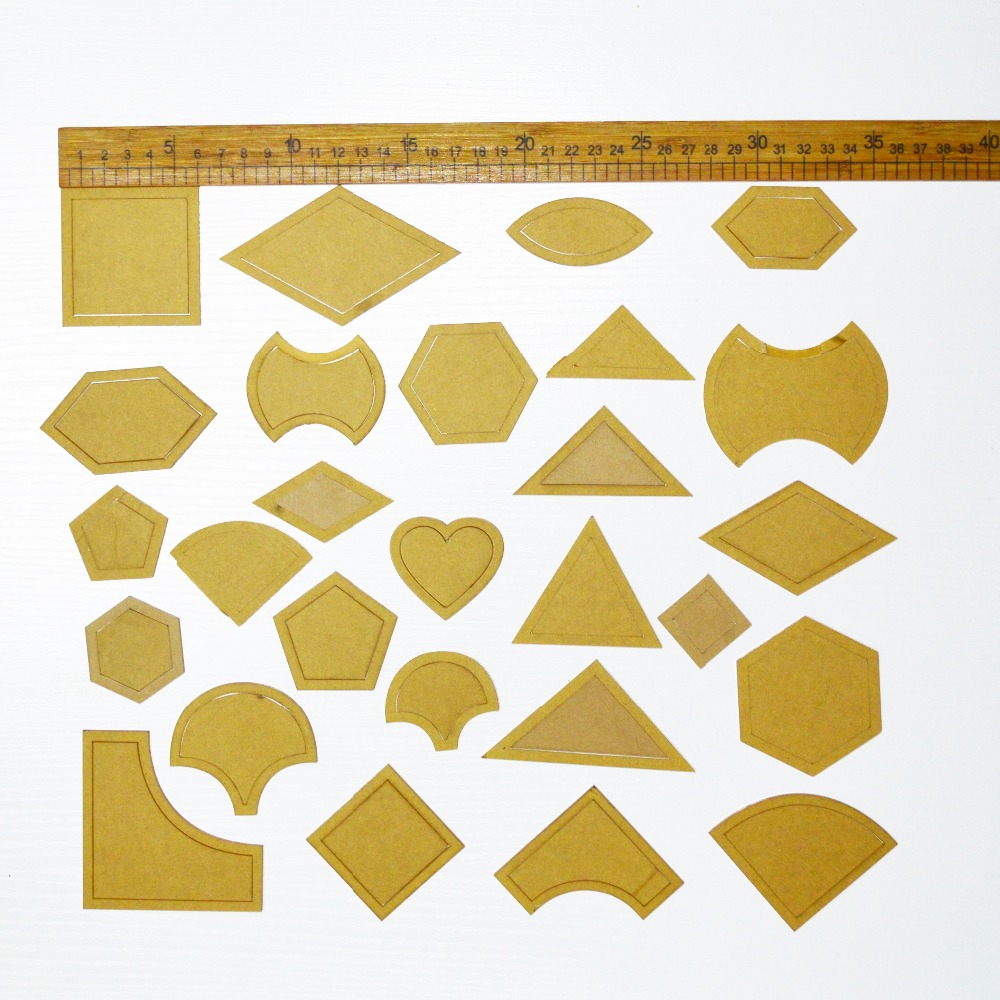How To Use Acrylic Quilting Templates : Online Buy Wholesale quilting templates from China quilting templates Wholesalers Aliexpress.com