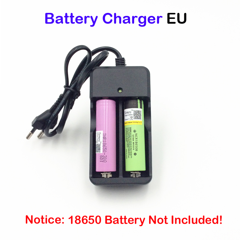US Plug 18650 Battery Charger for 16340 Rechargeable Battery auto stop charging