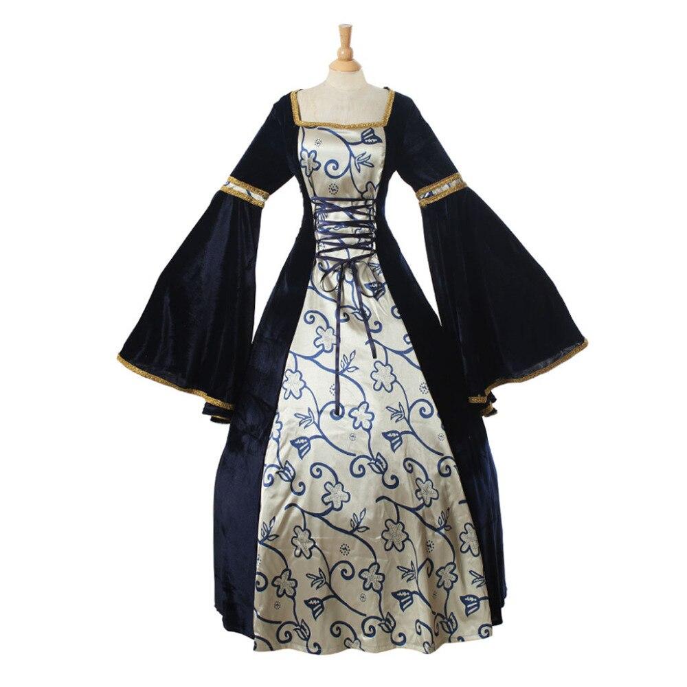 6c242b4651 Renesansowy strój średniowieczny wiktoriańskiej sukni kostium Gothic sukienka  Fantasy wykonane na zamówienie w Renesansowy strój średniowieczny ...