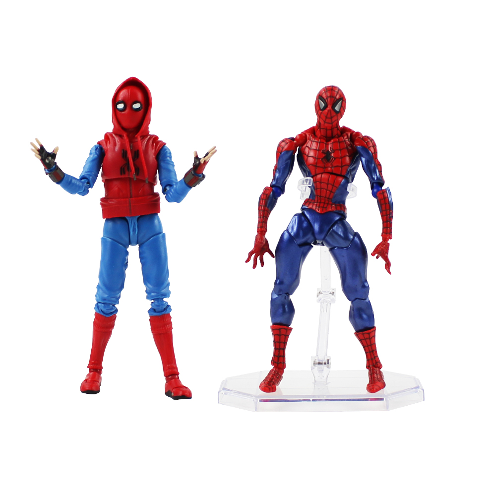 13-15cm spider woman moveable pvc action figure model spiderman collection gift toy