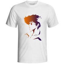 Spike Spiegel T-shirt Classic Japanese Anime Cowboy Bebop T Shirt Casual Style Creative Design Cartoon Skate Women Men Top Tee