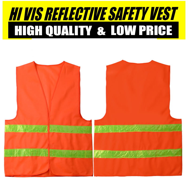 Spardwear High Quality Low Price Cheap Reflective Safety Vest Construction Traffic Work Security Waistcoat mens Free shipping 2016 real top fashion safety construction reflective vest more than a single fluorescent green lattice safety vest zip pocket