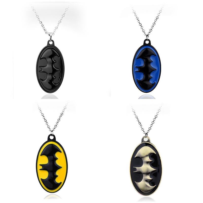 Fashion Jewelry New Arrive Superhero Batman Necklace Pendant Necklace Gift For Women And ...