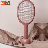 Xiaomi youpin electric mosquito swatter 360nm ultraviolet double layer anti shock net fly flies mosquito killer smart home
