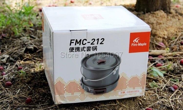 Chá Pote Acampamento ao Ar Livre panelas Talheres Bordo Fogo FMC-212