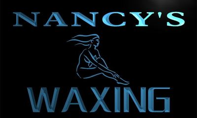 x2012-tm Nancys Waxing Beauty Salon Custom Personalized Name Neon Sign Wholesale Dropshipping On/Off Switch 7 Colors DHL