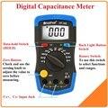 HoldPeak Mini Multímetro Circuito Medidor de LCD Digital medidor de Capacitância Capacitor Tester mF pF 36D Back Light