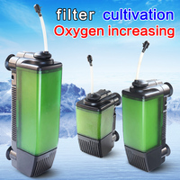 SOBO fish tank filter 1300F/1301F/1302F Oxygen increasing pump for mute 3 in 1 built in filter for aquarium