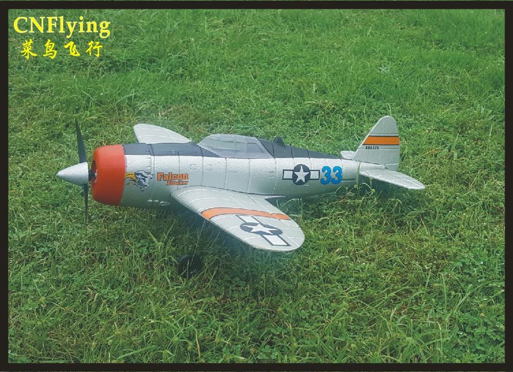 Vente chaude parc FLYER nouveau MINI P47 2.4G 4CH 6 axes gyroscope facile vol EPO guerre oiseau RC avion avion RTF SET combattant
