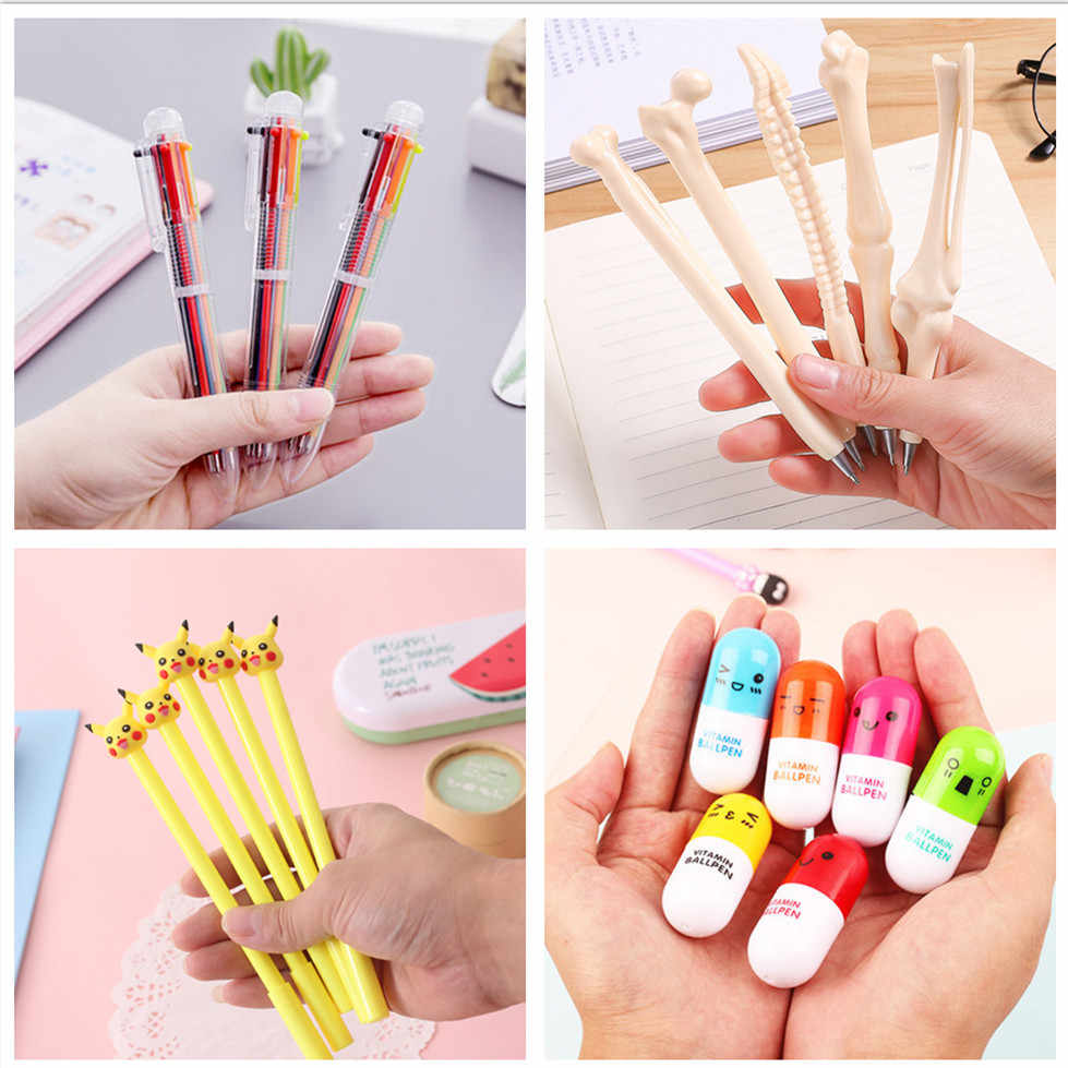1pcs Sell Variety of Color Gel Pens Student gel Ink Pen School Office Supplies Learning Stationery Wholesale