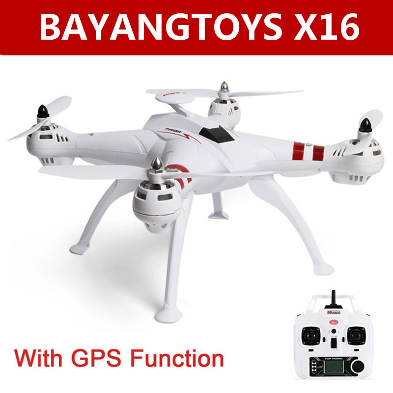 BAYANGTOYS X16 GPS Brushless Motor RC Quadcopter RTF 2 4GHz 4CH 6Axis Automatic Return 360 Degree