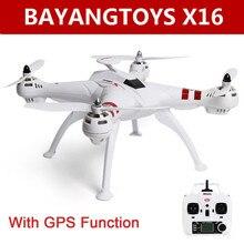BAYANGTOYS X16 GPS Brushless Motor RC Quadcopter RTF 2,4 GHz 4CH 6 Achse Automatische Rückkehr 360 Grad Flip Mini Drohnen RC Hubschrauber