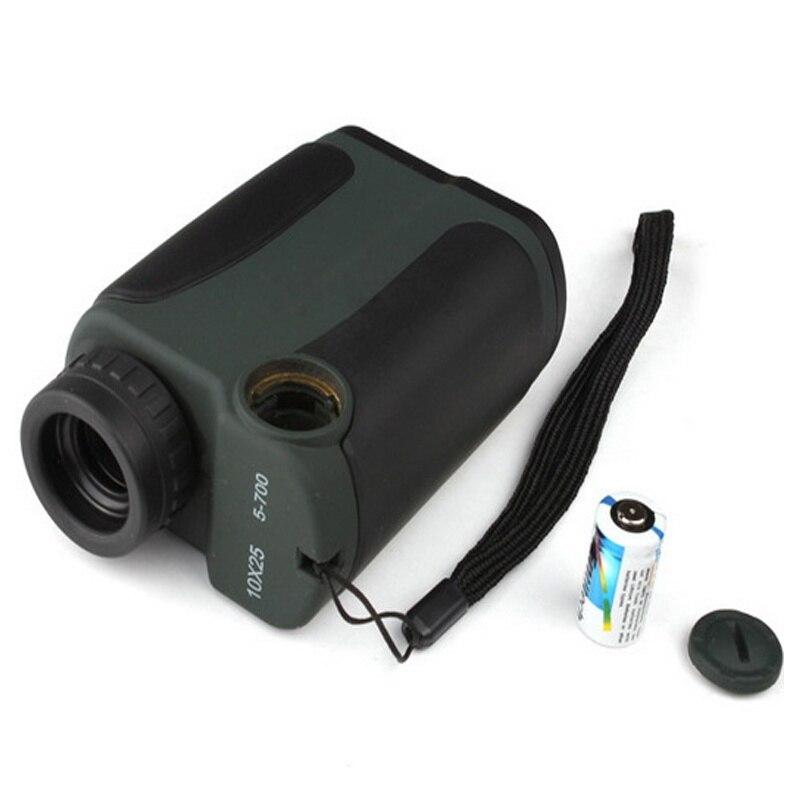 купить Laser Telemetri Monoculare caccia golf range finder Distance Meter 10x25 700 m/yard Measurer di distanza Range Finder недорого
