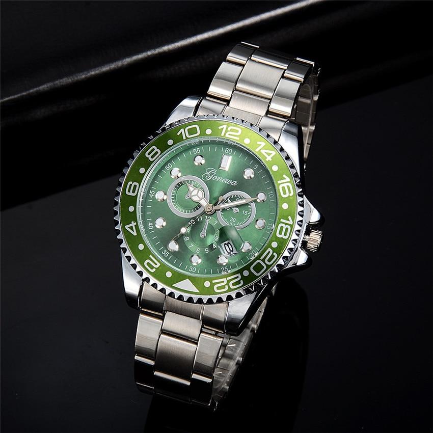 Quartz Wristwatch Men Male Fashion Casual Hulk Date Display Gift Military Sport Quartz Analog Watch Band Bracelet 4A analog watch