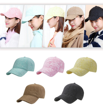 RoxCober High Quality Women Jacquard cotton baseball cap sports Snapback Caps Outdoor Sun Hat Adjustable Hip-hop hat 1