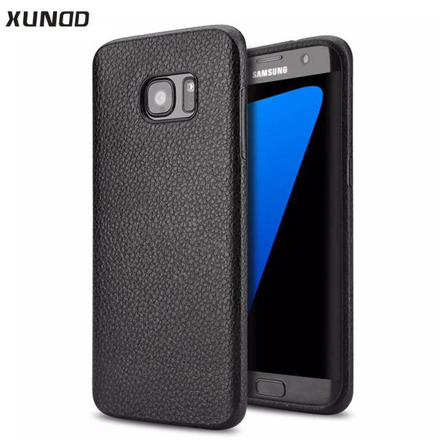 XUNDD ultra-thin soft silicone protective back case For Samsung Galaxy S7 Edge SM-G935F phone case for galaxy s7 capa