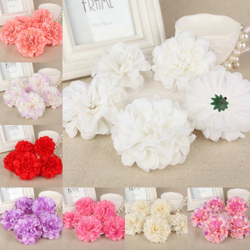 Aliexpress.com : Buy 100pcs 8cm Artificial Silk Flower Rose Heads ...
