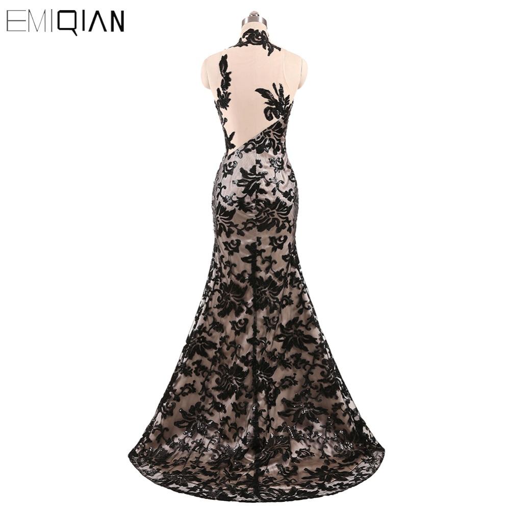 Freeshipping εκπληκτική φόρεμα βράδυ μαύρο - Ειδικές φορέματα περίπτωσης - Φωτογραφία 3