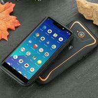 Android 8.1 Waterproof smart phones guophone x3 quad core 5.5'' MTK6739 2GB RAM / 16GB ROM Mobile phone
