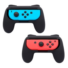 2PCS For Nintend Change Controller Bracket Hand Holder Put on-resistant Handheld Deal with Grips For Joycon Grip Recreation Controller