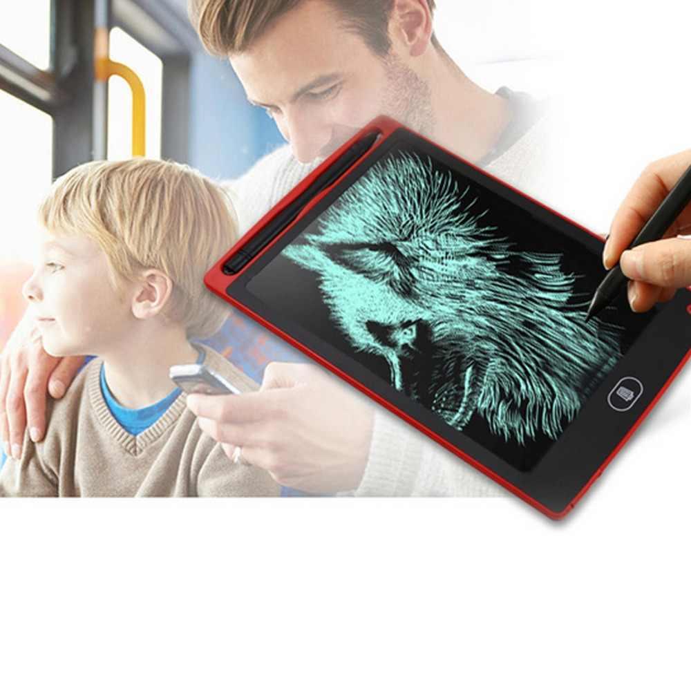 ציור צעצועי 8.5/12 אינץ LCD הכתיבה למחוק ציור לוח אלקטרוני ללא נייר LCD כתב יד כרית ילדי כתיבת לוח ילד