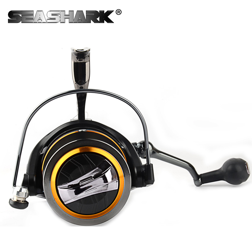 SEASHARK Big Fishing Reel Big Spool Casting Spinning Reels just for big fish 8000/9000/1000/1100/12000 fishing cup