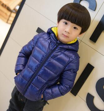 Children's clothing male winter cotton-padded jacket 2018 down cotton wadded jacket thickening boys girls thicken Hooded coat