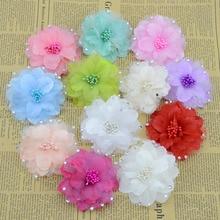 Искусственные цветы поддельные цветы для моделирования с шелковой пряжей с бриллиантом шпилька с изображением камелии DIY аксессуары обувь одежда