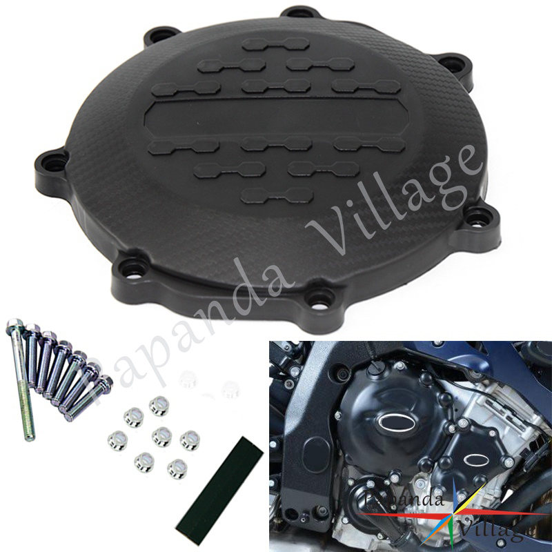 Motorcycle Engine Clutch Cover Guard Protector Plastic Guard For YAMAHA YZ250F 2014-2018 YZ250FX 2015-2017 WRF250 2015-2017