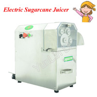 4 Rollers Sugarcane Juicer Stainless Steel Electric Sugarcane Juicer Machine with 4 Rollers Automatic Pulp Ejection