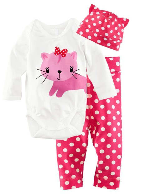 7e5c1f773 Online Shop New Baby Girls Boy Pajamas Cotton Bodysuits Nightclothes ...