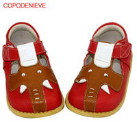 COPODENIEVE Fashion Spring Autumn Children Shoes Boys Casual Shoes Genuine Leather Toddler And Littler Kids Boys