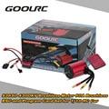 Оригинал S3650 GoolRC 4300KV Бессенсорное Безщеточный 60A Brushless ESC и Программа Карты Комбо Набор для 1/10 RC Car Truck