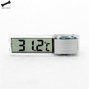 Image 5 - Aquarium thermometer Digital LCD electronic fish tank 3D Digital temperature gauge sticker shrimp fish turtle G3615