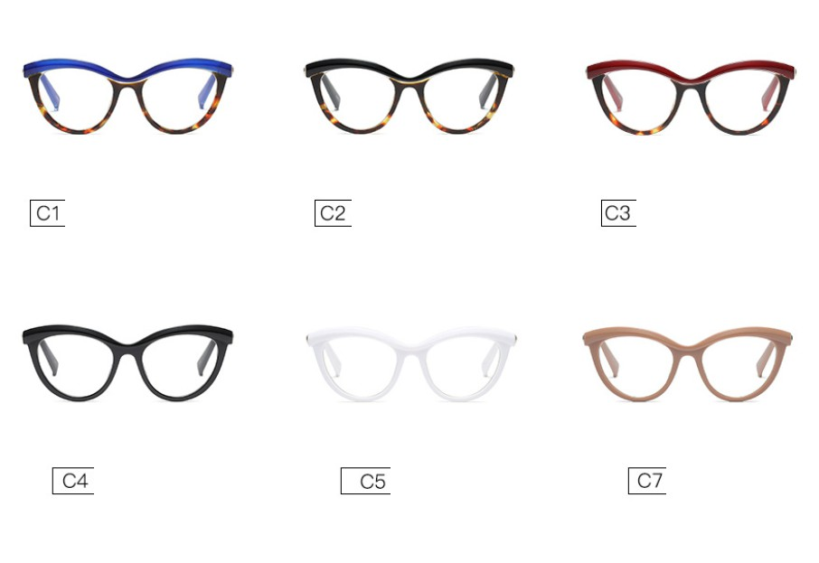 Eyewear Frames - Ladies Eyebrows Square Glasses(BUY ONE GET ONE 20 ...