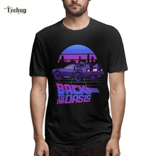 Graphic For Boy Back To The Future T-shirt Homme Tee Shirt Free Shipping Custom O-neck Male shirt