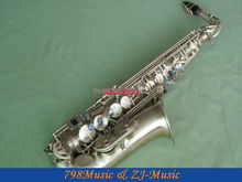 NEW Professional Antique Bronzy Eb Alto Saxophone High F# With Case